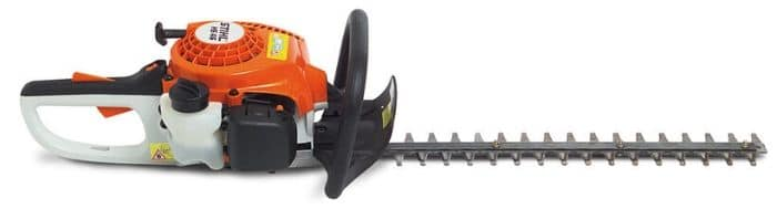 A Stihl brand hedge trimmer.